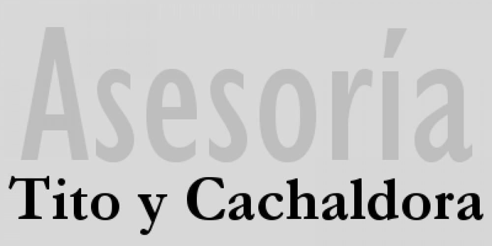 Tito y Cachaldora, asesoría