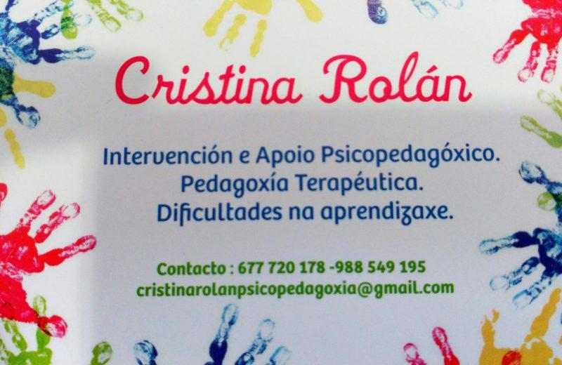 Cristina Rolán Psicopedagogía